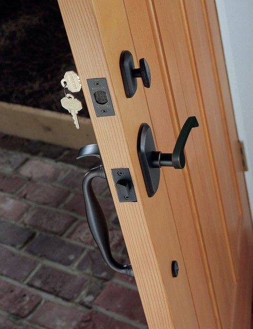 Rustic Door Hardware Rustic Entry Chicago By
