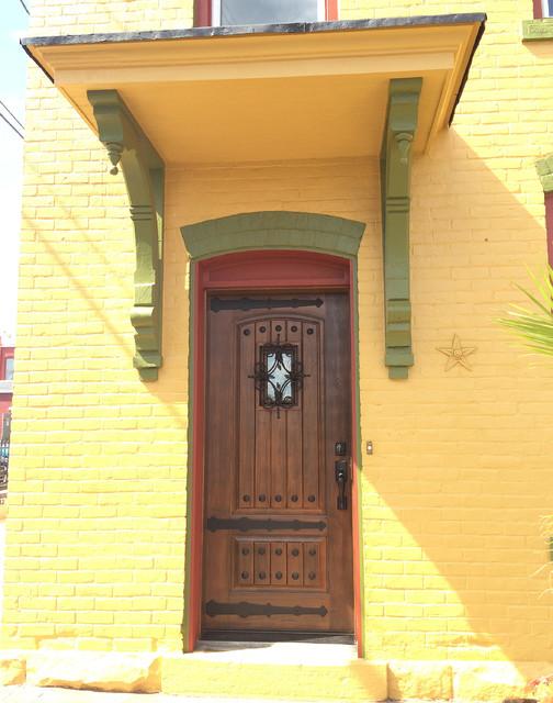 Rustic Fiberglass Entry Doors : Rustic fiberglass quot walnut entry door