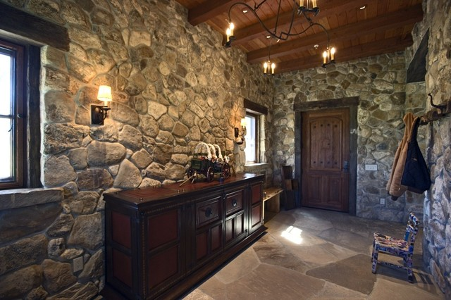 Rustic stone work - Using stone in rustic gardens elegance and drama ...