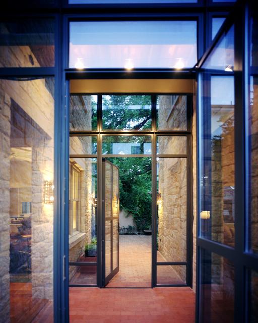 San Antonio River House contemporary-entry