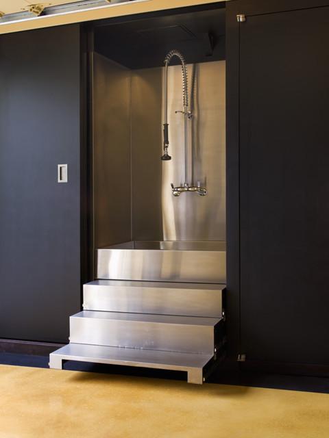 San Francisco Custom Multi-Use Garage contemporary-entry
