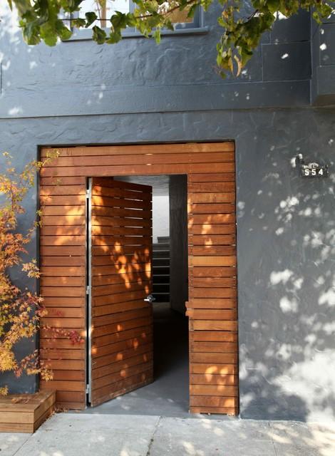 San Francisco Family Home contemporary-entry
