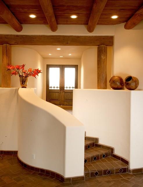 Santa fe style home oro valley az lot 77 contemporary for Santa fe style modular homes
