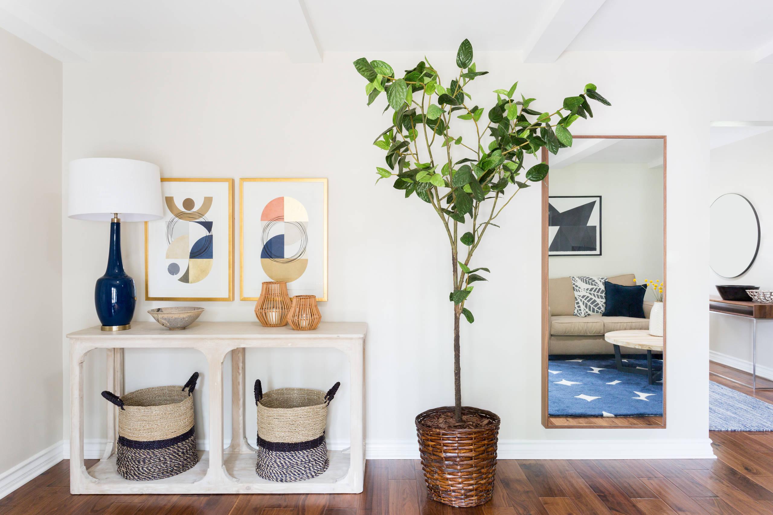 Scandinavian Inspired Foyer