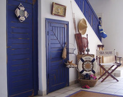 seaside resort living eclectic entry