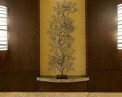 Seasons at Cherry Creek Elevator Lobby contemporary-entry