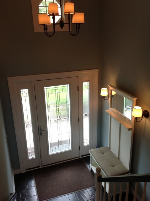 Severna Park Split Foyer Renovation Transitional Entry