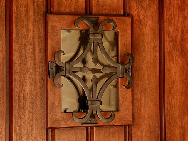 Seville Speakeasy in Rustic Entry Door rustic-entry & Seville Speakeasy in Rustic Entry Door - Rustic - Entry - Orange ...