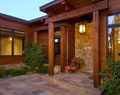 Shevlin Commons Meadow Hacienda eclectic-exterior