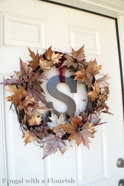 Shimmery Fall Wreath traditional-entry