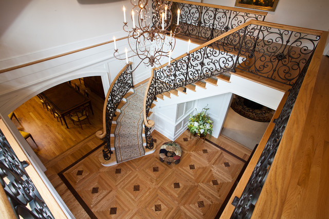Shoreview Foyer Renovation traditional-entry