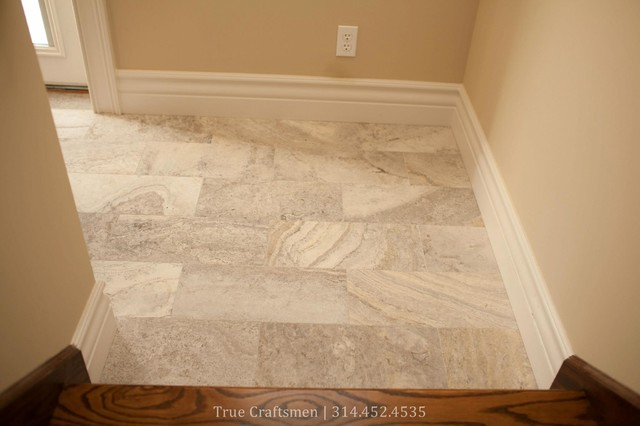 Foyer Tile Utah : Silver travertine entryway traditional entry st