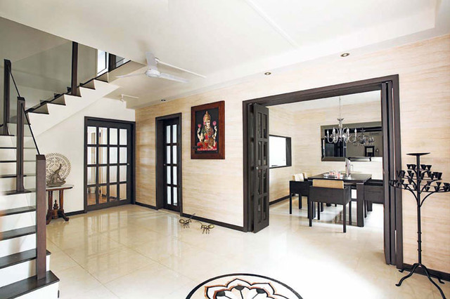 Singapore Maisonette Hdb Apartment Asian Entry Singapore By Aiden T