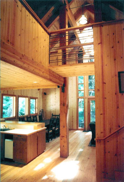 Ski Cabin contemporary-entry