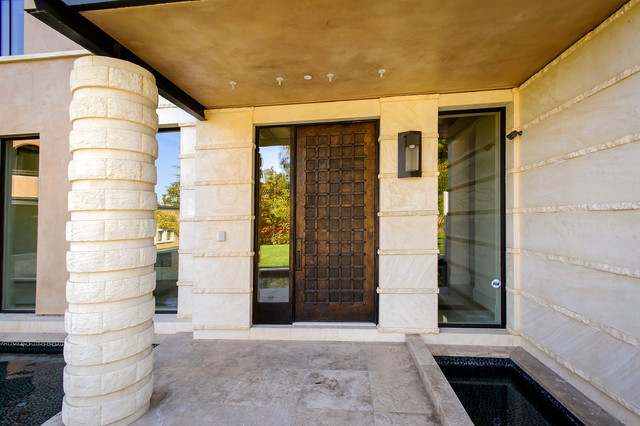Skyfarm Villa Modern Entry San Francisco By Dennis