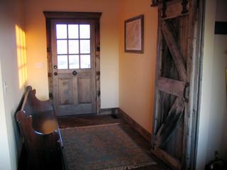 Sliding Barn Door Traditional Entry Grand Rapids