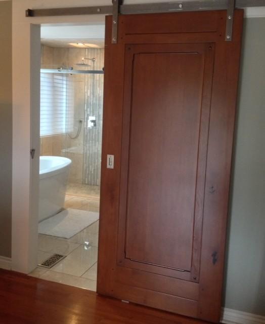 Sliding Barn Door Bathroom Privacy: Sliding Doors