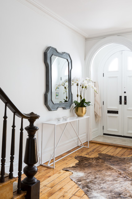 Foyer Ideas For Townhouse : Small spaces big moments transitional entry new