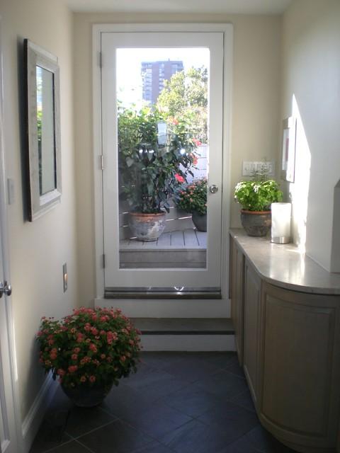 Society Hill Condominium Modern Entry Philadelphia By K Yoder Design Llc
