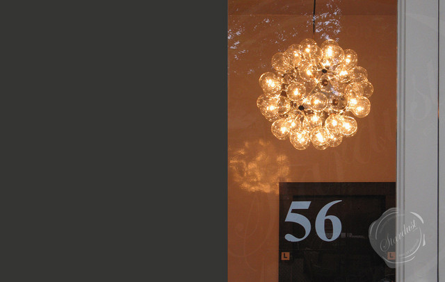 SoHo New York Broome Street Entryway Chandelier Flos Taraxacum 88 – Contemporary Foyer Chandelier