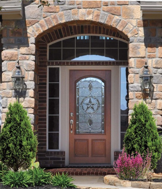 Mediterranean Style Entry Doors: Solid Wood Entry Doors