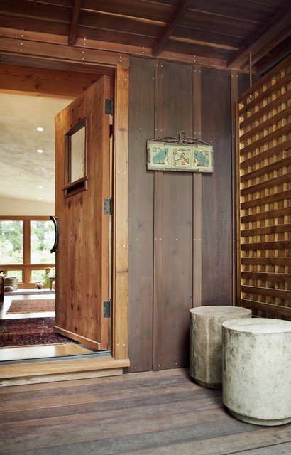 Sonoma Residence Entry Hall rustic-entry