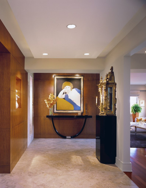 Soothingly Modern contemporary-entry