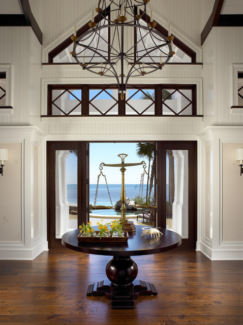 Sophisticated key west style eclectic entry other for Interior entryway designs