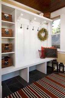 South Minneapolis Kitchen Remodel - Craftsman - Entry - Minneapolis