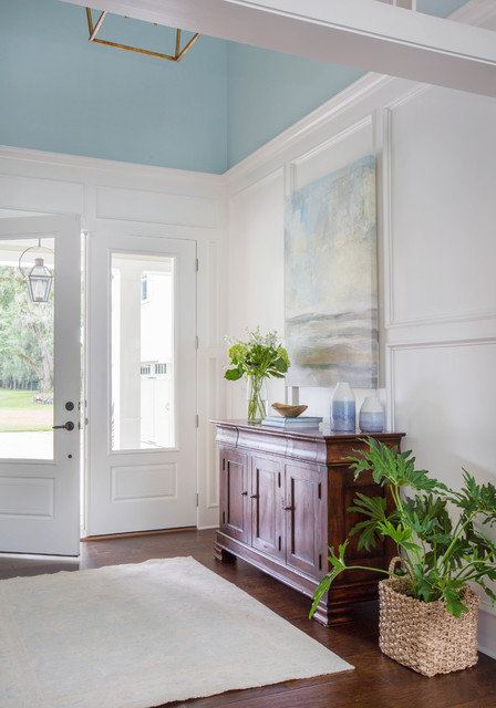 Southern Living Riverfront transitional-entry