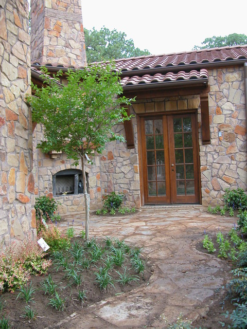Southlake homes traditional-entry