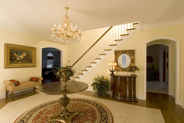 Spaces Around the Home traditional-entry
