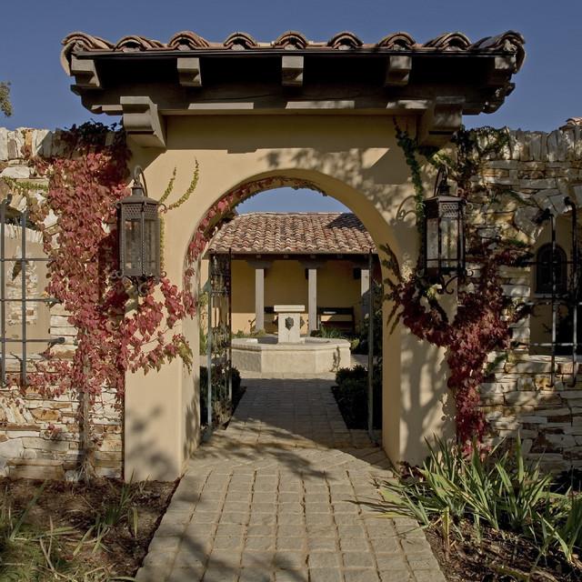 Spanish Colonial Hacienda, Carmel, California - Mediterranean - Entry - Other - by John Malick ...