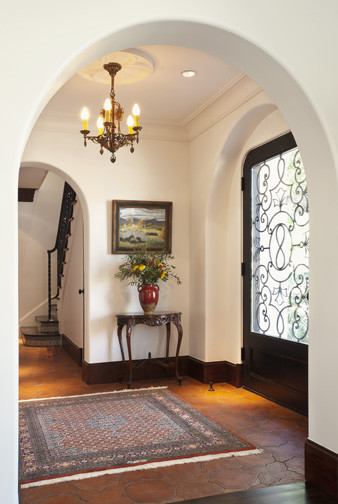 Spanish Colonial Remodel - Mediterranean - Entry - other metro - by Astleford Interiors, Inc.