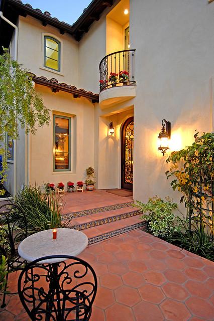 Spanish Colonial Revival Mediterranean Entry Los