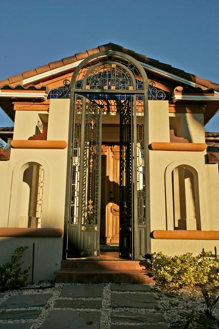 Spanish Marshside Florida Home - Mediterranean - Entry ...