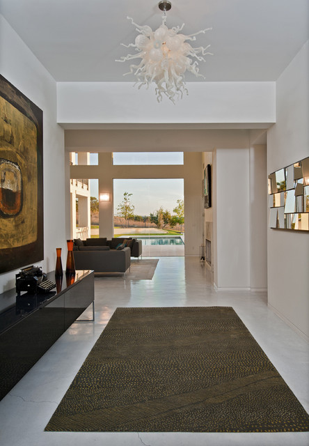 Spanish Oaks Residence Entry contemporary-entry