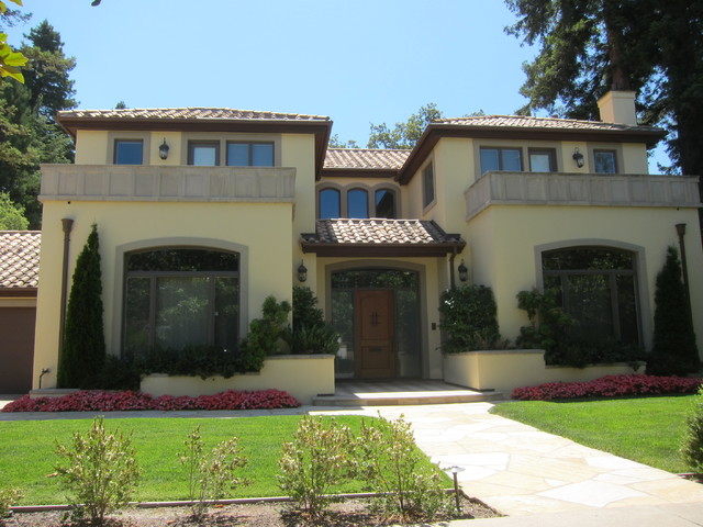 Spanish style houses for California mediterranean style homes