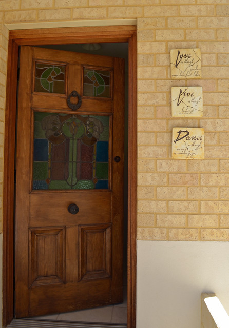 Stained Glass Front Door Entry Perth By Jennie Hunt Weymouth