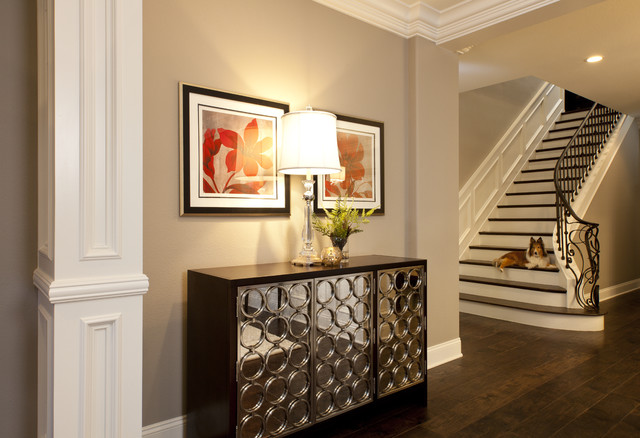 Staircase Design Ideas Traditional Entry San Diego