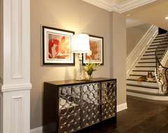 Staircase design ideas traditional-entry