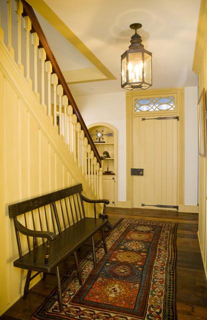 Farmhouse Foyer Hall : Starry night farm stair hall farmhouse entry