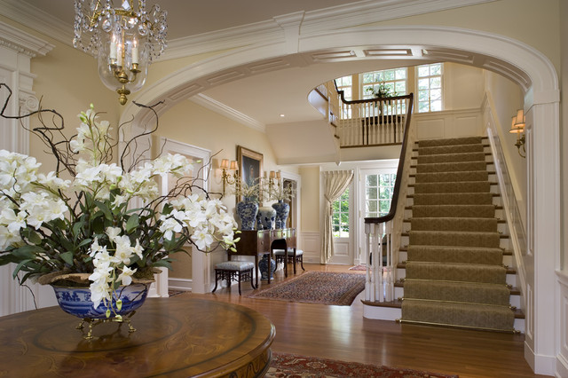Stately Manor Traditional Entry Other By Diane Burgoyne Interiors