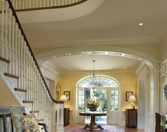 stately manor traditional-entry