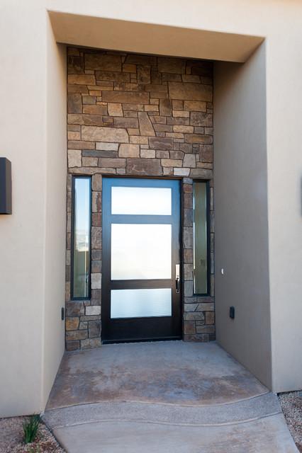 Entryway - contemporary entryway idea in Other