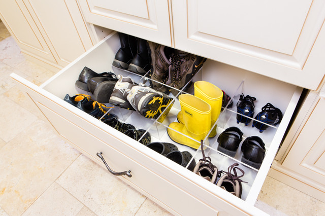 Storage Solutions - Traditional - Entry - chicago - by Closet Organizing Systems
