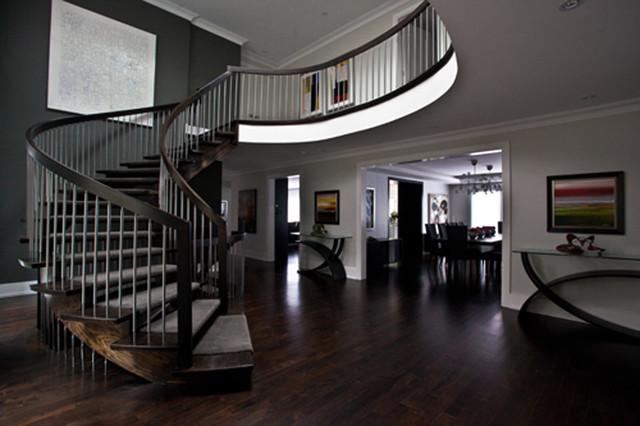 Front Foyer modern-entry