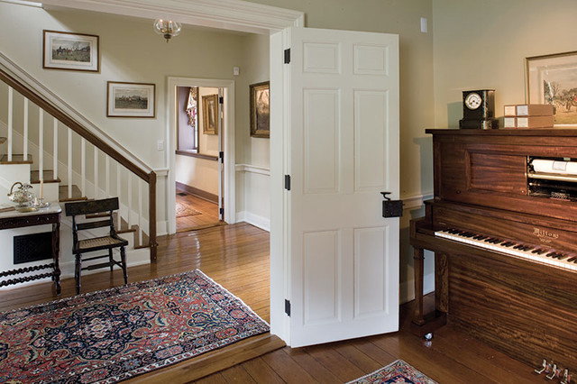 Strawberry Hill Historic restoration traditional-entry