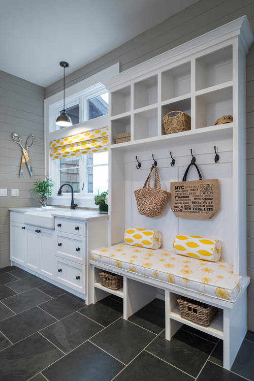 A Pendant Like The Kichler Hatteras Bay Can Help You Get This Smart Mudroom Style