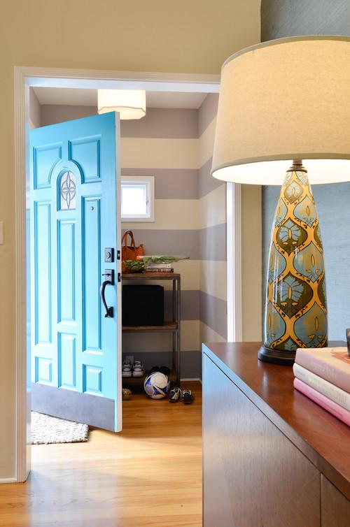 how to paint an exterior door. Black Bedroom Furniture Sets. Home Design Ideas